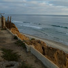 "Looking at ""Tomato Patch"" and ""Sea Bluff"" surf breaks at the northern edge of Leucadia"
