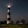 Bodie Island Lighthouse at night