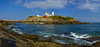 "Cape Neddick ""Nubble"" Light in York, Maine on a bright summer day"