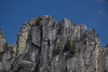 Climbers on Seneca Rocks