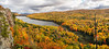 Lake of the Clouds at Fall color peak---LS-5025