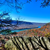 Overlook on the Cumberland Trail in fall