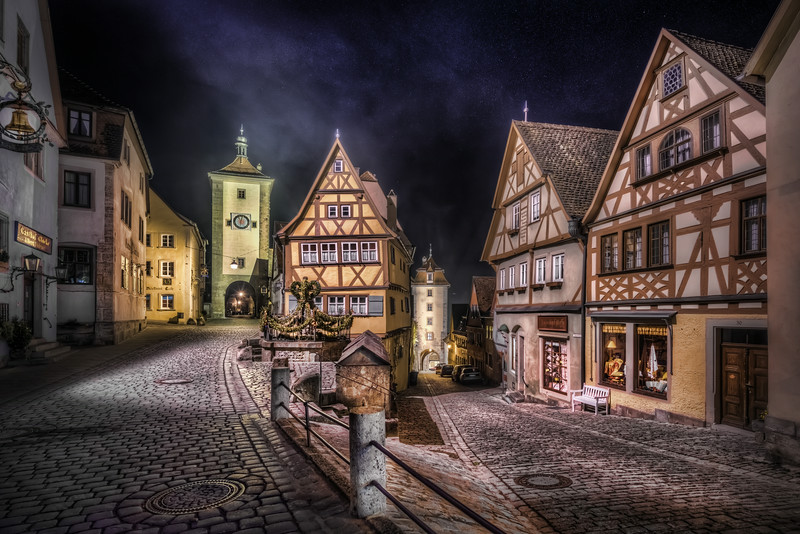Rothenburg split road