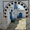 Arch & alleyway, Sidi Bou Said