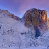 First Hint Of Light On The Dome - Yosemite National Park, California