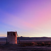 Joe the Watertank at sunrise