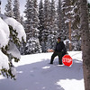 Snowshoeing to Brainard Lake in May!  Colorado Indian Peaks Wilderness.