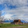 Mormon Row.    Grand Teton National Park.