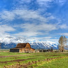 Mormon Row.    Grand Teton National Park.
