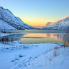 Sunrise near Tromso, Norway