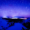 Mt. Shasta Star Trails, California