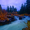 Fall at Union Creek, Oregon