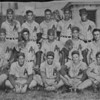 The Nashville Herald, front page, June 23, 1955<br /> Photo caption:<br /> ALAPAHA LIONS BASEBALL SQUAD – Berrien County's representative in the Twin-Rivers Baseball League this year is the young and talented Alapaha Lions Club team pictured above.  Players, front row, L-R, James Moore, Edwin Register, Charles Matthews, Billy Sanderson, Weyman Vickers; middle row L-R, Melvin Plair, Joe Dixon, Russell Nix, Garland McMillan, Joe Peach; back row L-R, Manager Buford Powell, Tommie Vickers, J.C. Rowe, Rufus Powell, Harvey Dorsey, Coach Julian Paulk.  Squad members not present for picture include Don Haskins, Hubert Moore and Pete Williams. – Photo by Wink Rogers.<br /> <br /> (Newspaper clipping shared by Tommie Vickers - original photo needed)