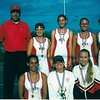 2001 BHS Girls Tennis Team<br /> Record:  16-2; Region 2-AA Champions; AA Final Four<br /> Coach:  Jarrett Luke<br /> <br /> (front, L-R):  Christy Taylor, Emily Watson, Stacy Powell.<br /> (back (L-R):  Coach Jarrett Luke, Amanda Cumbess, Alicia Griffin, Jessica Stone, Kacie Parrish.