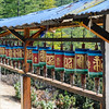 Prayer Wheels on Tiger's Nest Hike
