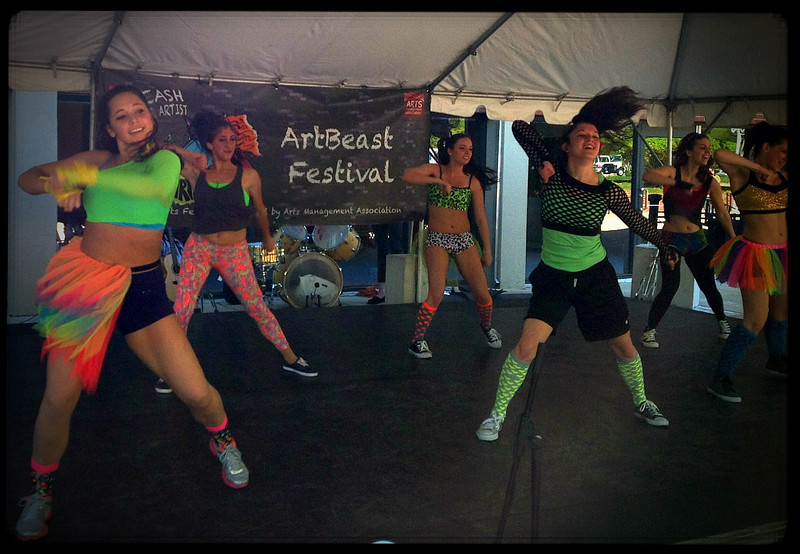 Rider Dance Ensemble at the 2013 ArtBeast