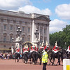 The new horse guard entering the palace