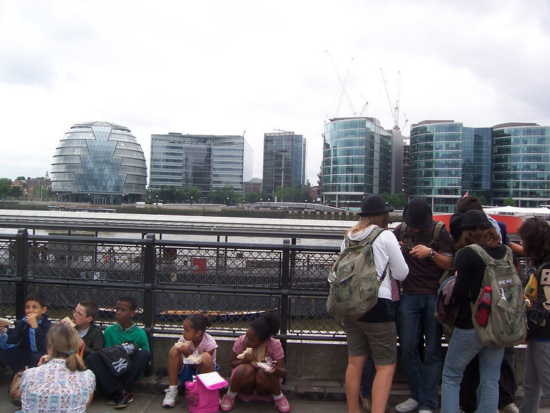 Some of the newer architecture along Southbank