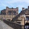 Some of the architecture inside Edinburgh Castle