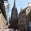 Heading down the Royal Mile from Edinburgh Castle
