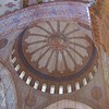 The roof of the Blue Mosque