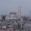 The Blue Mosque (from Galata Tower)