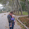 Tash and Charlotte getting lost in the park in Istanbul