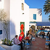 Winter afternoon in Sidi Bou Said, Tunisia