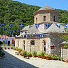 Evangelistria monastery on the island of Skiathos, Greece