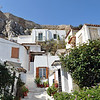 Traditional dwellings on the slopes of the Acropolis in Athens, Greece