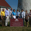 August 27, 2014 - Essex National Heritage Commission - Exchanging of the Baker Island Lighthouse Deed