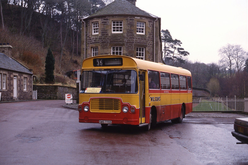 Wilson Carnwath SWS770S Old Counting House Caithness Row New Lanark 2 Jan 92