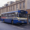 Hutchison Overtown D375RHS Main st Wishaw Aug 87