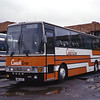 Cotter Glasgow NRP937 KIngs Cross Coach Stn London Sep 83