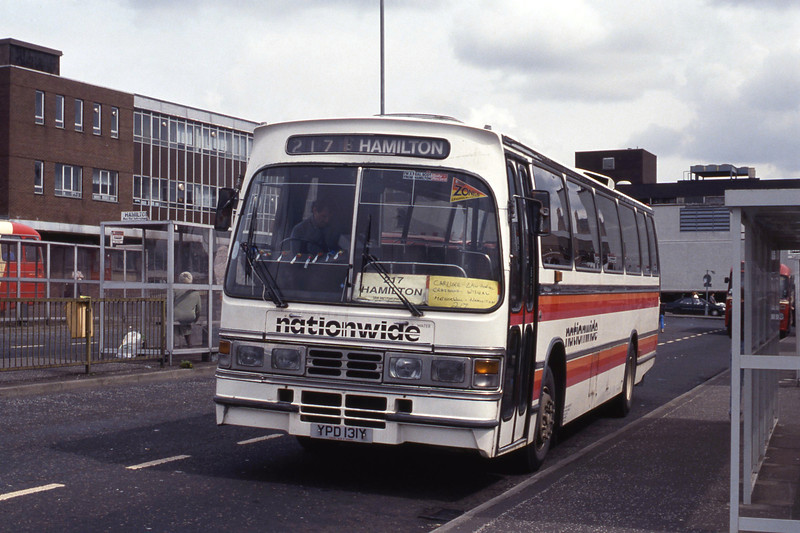 Nationwide Lanark YPD131Y Hamilton Bus Stn May 92