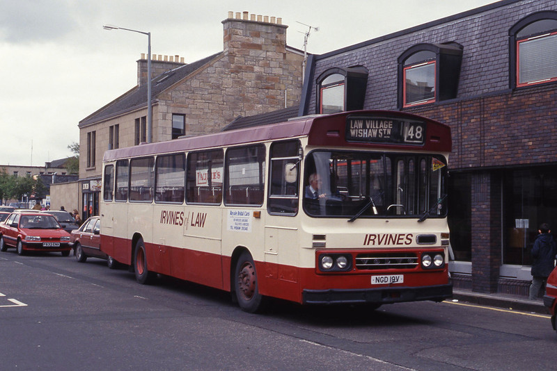 Irvine Law NGD19V Main St Wishaw May 92