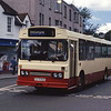 Loch Lomond Coaches D375RHS Bridge St Dumbarton Aug 93
