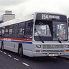 Whitelaw Stonehouse J45GGB Hamilton Bus Stn May 92