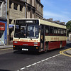 Loch Lomond Coaches UOI772 High St Dumbarton Jul 91