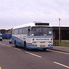 Bus and Coach Rental Dennistoun OSJ617R Raigmore Hospital Invss Sep 89