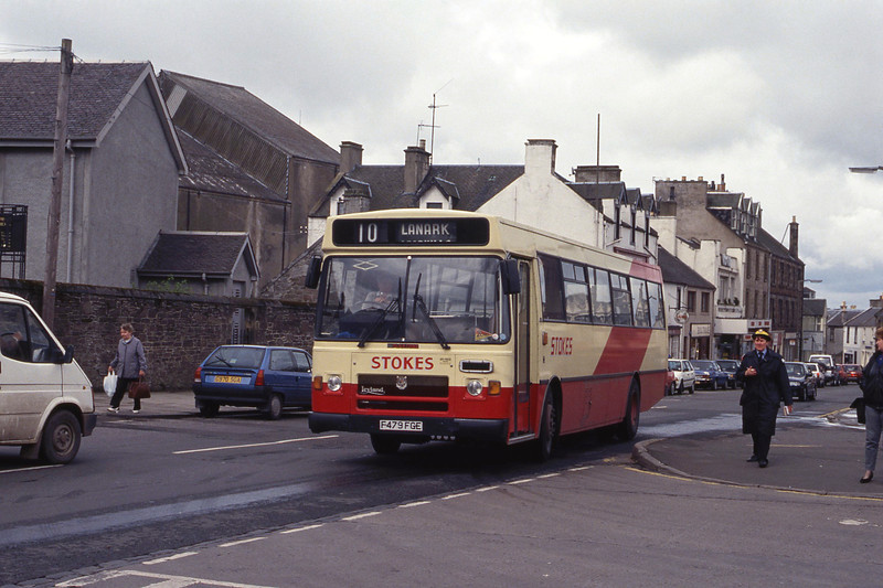 Stokes Carstairs F479FGE  High St Lanark May 92