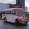 Anns Coaches Kirkintilloch BJV590 Irvine Harbour Jul 88