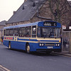 Hutchison Overtown D497WYS Kenilworth Ave Wishaw Dec 90