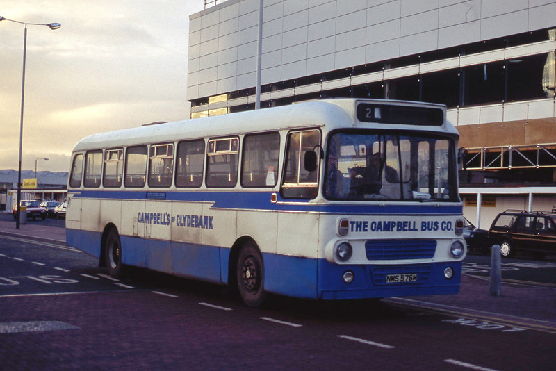 Campbell Clydebank NMS576M Glasgow Airport Dec 90