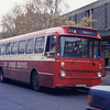 Loch Lomond Coaches GSU832T High St Dumbarton Nov 95