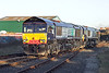 66417 and 66414, Morecambe 2/11/2006<br /> 0C52 1638 Heysham-Sellafield