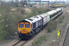66731 and 377106, Wellingborough 3/4/2009 5X77 0944 Selhurst TMD-Derby Litchurch Lane
