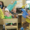 Three brothers get their first library cards and party it up !