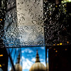 Raindrops and St. Paul Cathedral