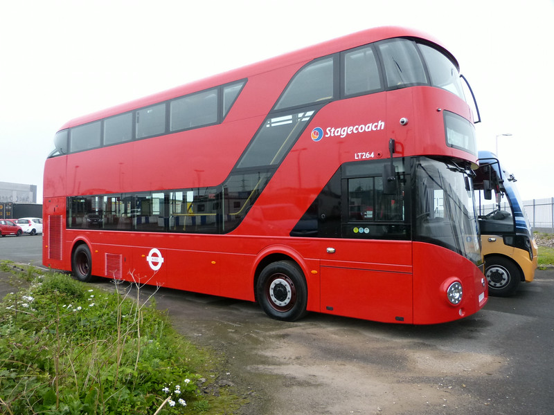 LT264 [Stagecoach London] 140615 Heysham